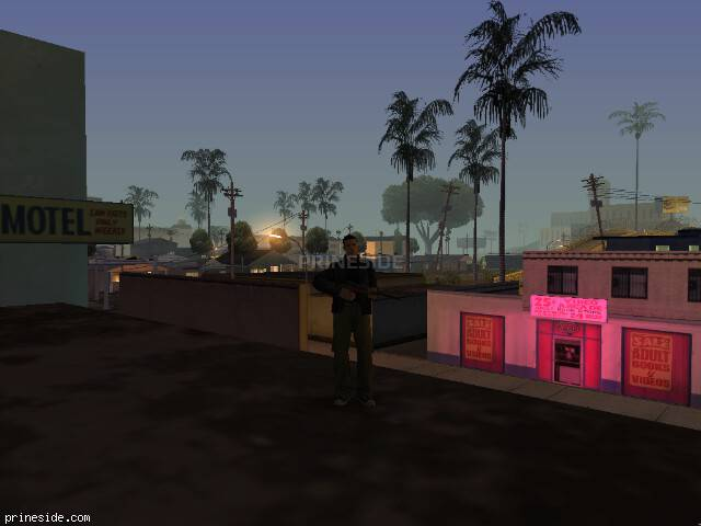 GTA San Andreas weather ID 143 at 3 hours
