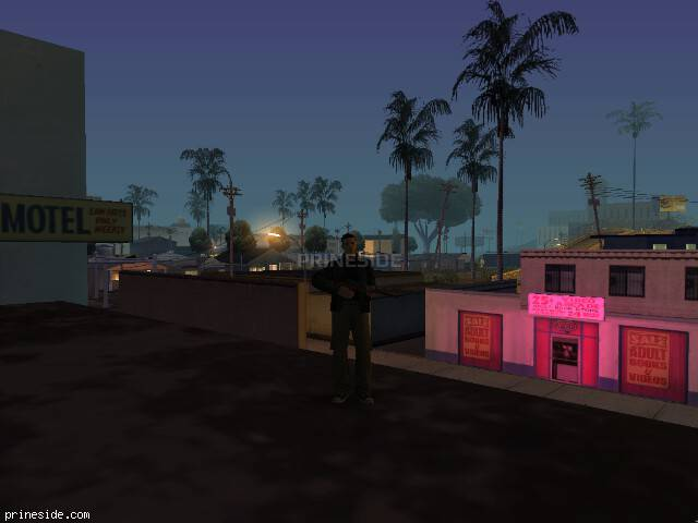 GTA San Andreas weather ID 143 at 4 hours