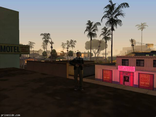 GTA San Andreas weather ID 912 at 1 hours