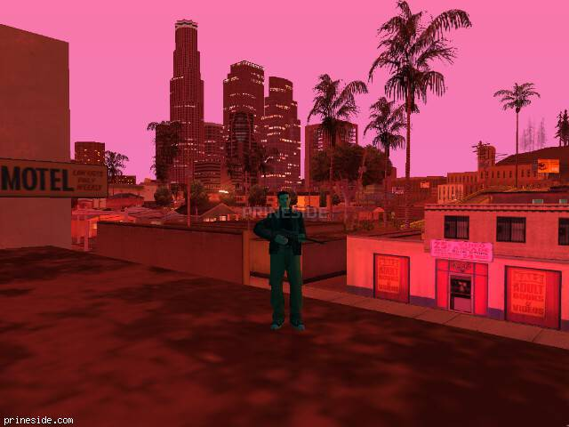 GTA San Andreas weather ID 912 at 22 hours