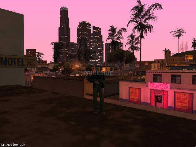GTA San Andreas weather ID 144 at 23 hours