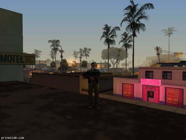 GTA San Andreas weather ID 1168 at 2 hours
