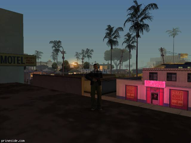 GTA San Andreas weather ID 1168 at 3 hours