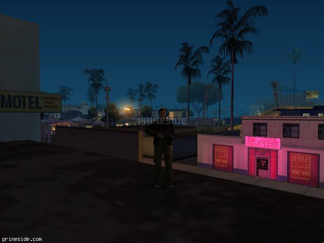 GTA San Andreas weather ID 1168 at 5 hours