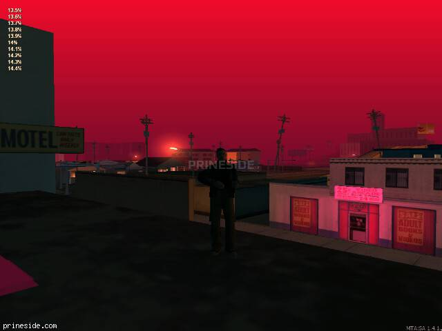 GTA San Andreas weather ID 1168 at 6 hours