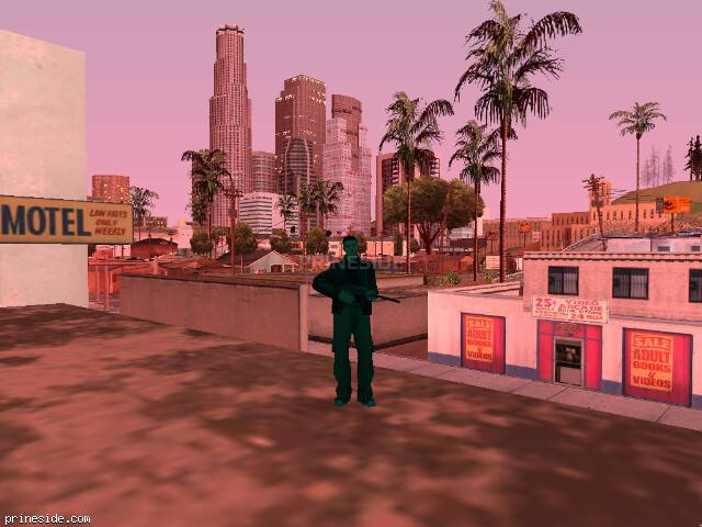 GTA San Andreas weather ID 145 at 20 hours