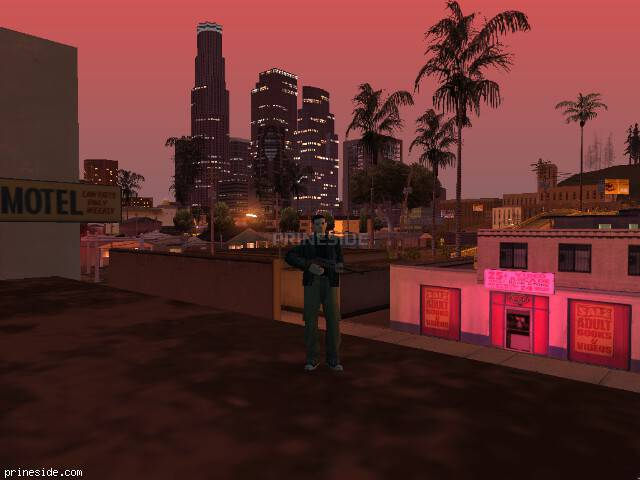 GTA San Andreas weather ID 146 at 23 hours