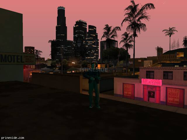 GTA San Andreas weather ID 147 at 22 hours