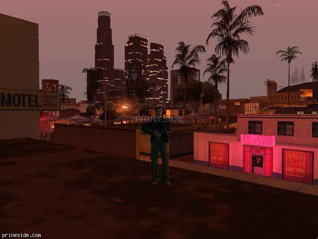 Просмотр погоды GTA San Andreas с ID 147 в 23 часов