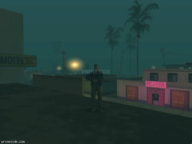 GTA San Andreas weather ID 147 at 2 hours