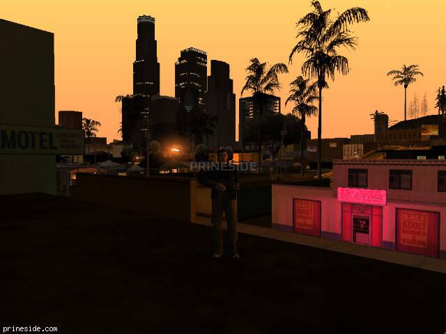 GTA San Andreas weather ID 148 at 0 hours