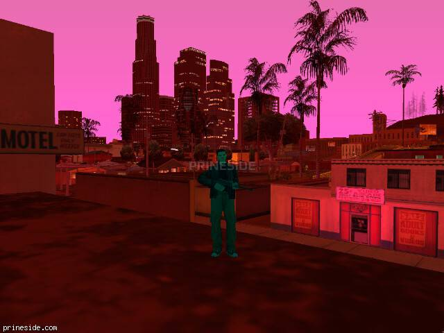 GTA San Andreas weather ID 148 at 21 hours