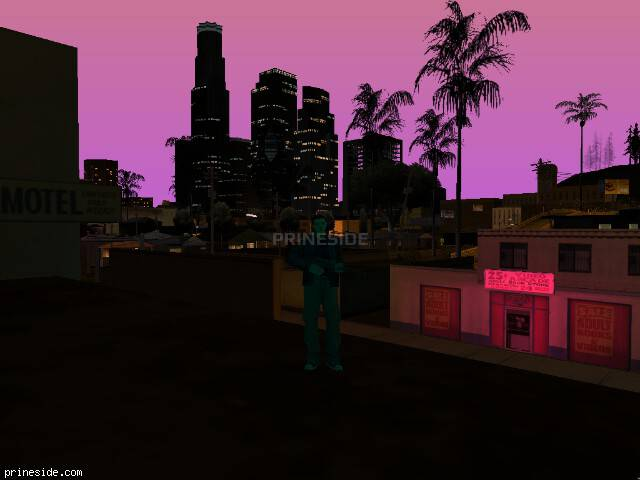 GTA San Andreas weather ID 148 at 22 hours
