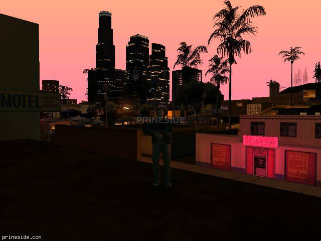 GTA San Andreas weather ID 148 at 23 hours