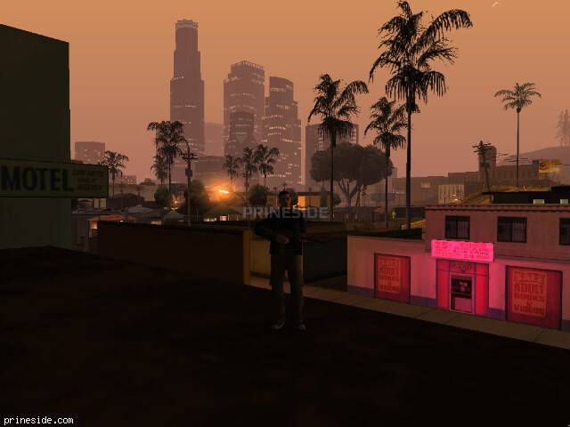GTA San Andreas weather ID 148 at 2 hours