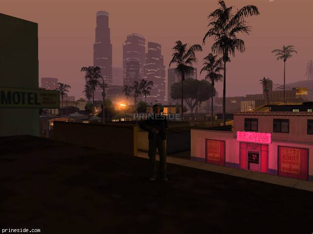 GTA San Andreas weather ID 148 at 3 hours