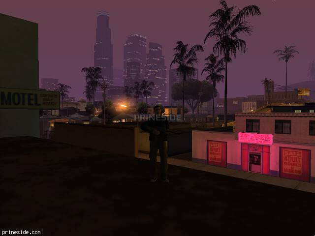 GTA San Andreas weather ID 148 at 4 hours