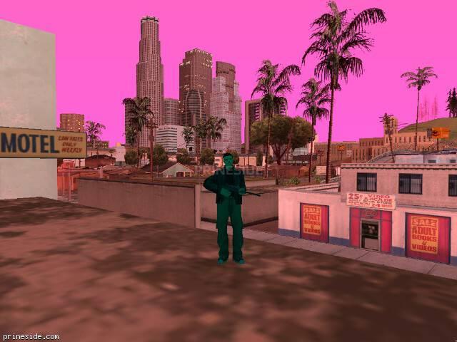 Просмотр погоды GTA San Andreas с ID 149 в 20 часов
