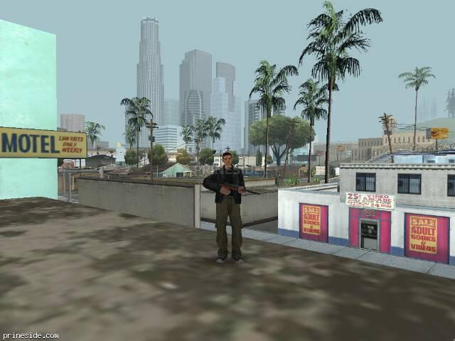 Просмотр погоды GTA San Andreas с ID 15 в 10 часов