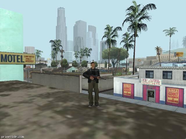 Просмотр погоды GTA San Andreas с ID 15 в 13 часов