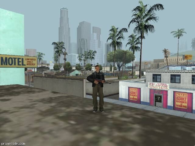 GTA San Andreas weather ID 15 at 15 hours