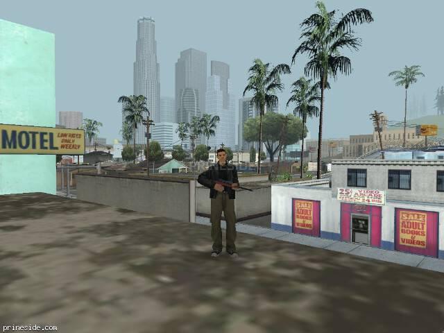 Просмотр погоды GTA San Andreas с ID 527 в 15 часов