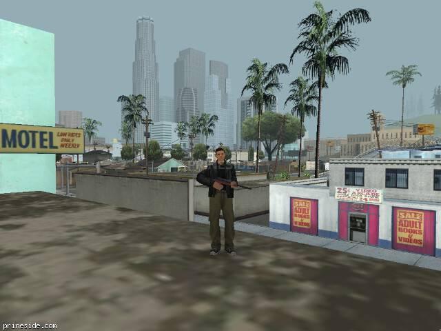 Просмотр погоды GTA San Andreas с ID 15 в 16 часов