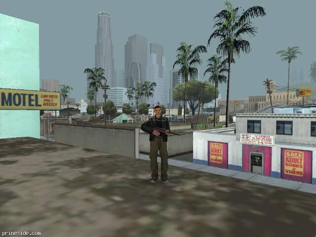 Просмотр погоды GTA San Andreas с ID 15 в 17 часов