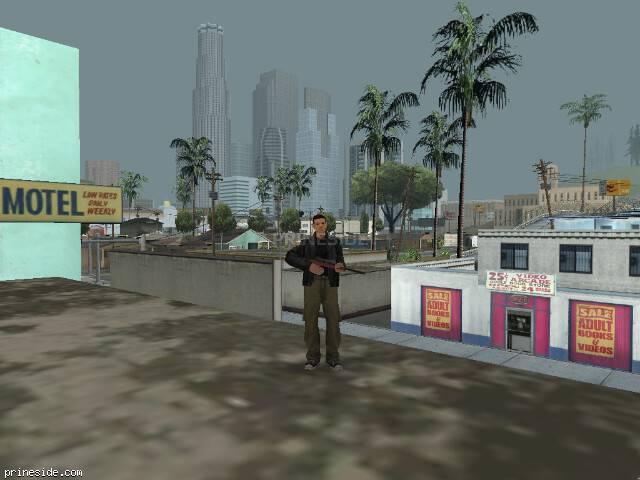 Просмотр погоды GTA San Andreas с ID 15 в 18 часов
