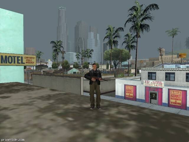 Просмотр погоды GTA San Andreas с ID 15 в 19 часов