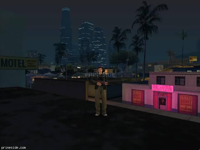 Просмотр погоды GTA San Andreas с ID 15 в 21 часов