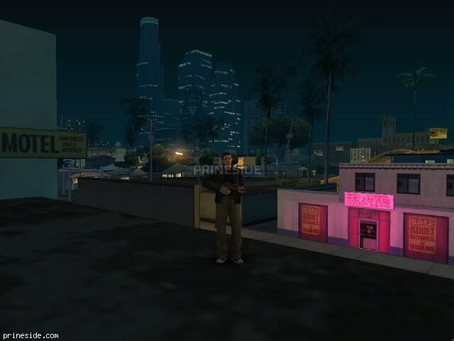 Просмотр погоды GTA San Andreas с ID 15 в 23 часов