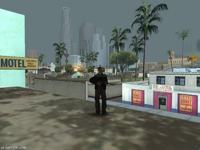 Просмотр погоды GTA San Andreas с ID 15 в 7 часов