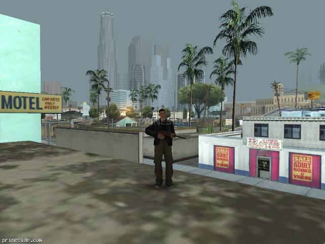Просмотр погоды GTA San Andreas с ID 527 в 8 часов