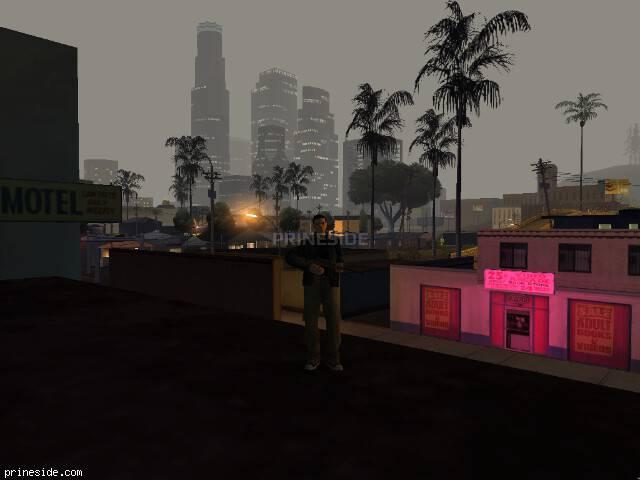 Просмотр погоды GTA San Andreas с ID 150 в 0 часов