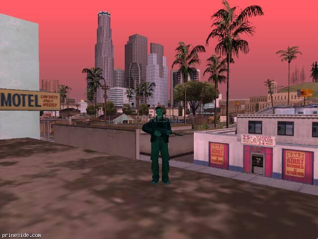 Просмотр погоды GTA San Andreas с ID 150 в 12 часов