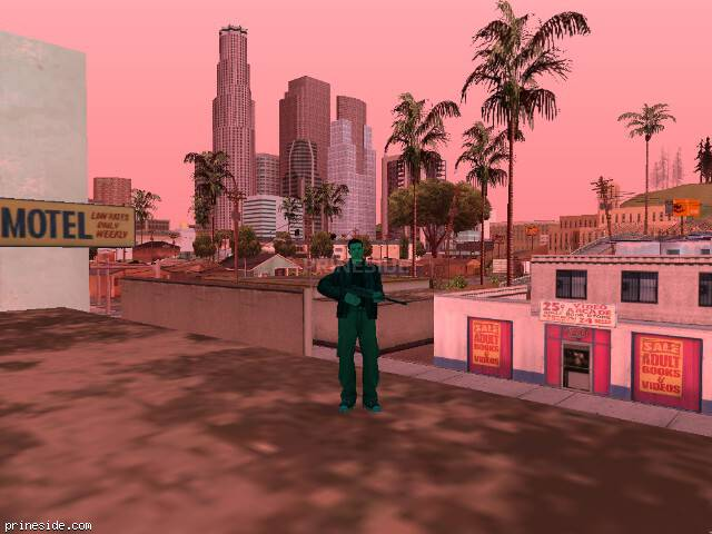GTA San Andreas weather ID 150 at 16 hours