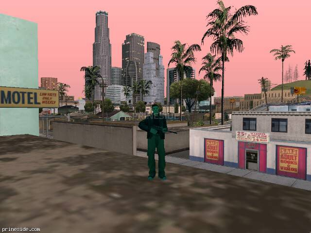 GTA San Andreas weather ID 150 at 20 hours