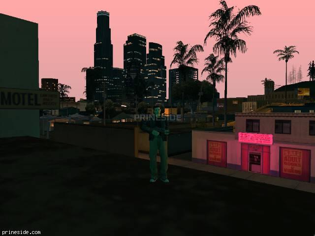 Просмотр погоды GTA San Andreas с ID 150 в 21 часов