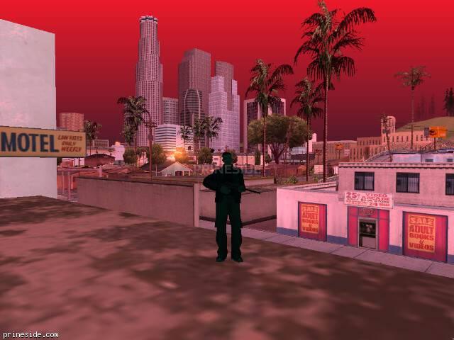 Просмотр погоды GTA San Andreas с ID 150 в 7 часов