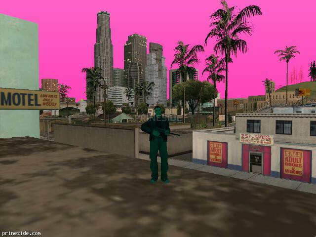 GTA San Andreas weather ID 151 at 20 hours