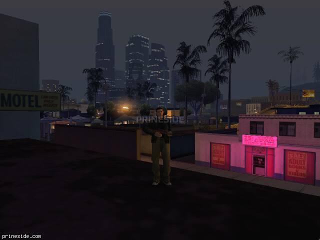 Просмотр погоды GTA San Andreas с ID 153 в 0 часов