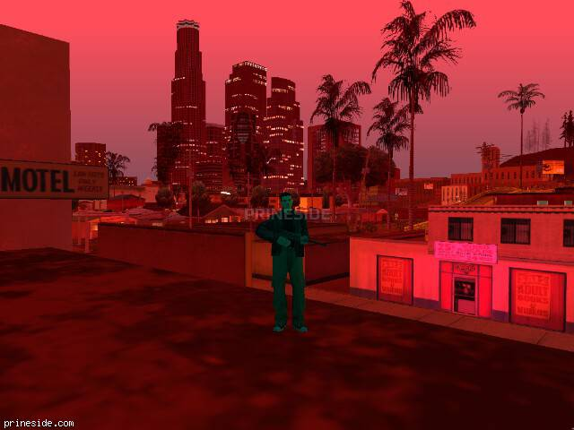 GTA San Andreas weather ID 153 at 22 hours