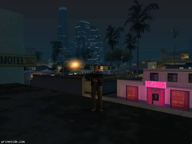 Просмотр погоды GTA San Andreas с ID 153 в 3 часов