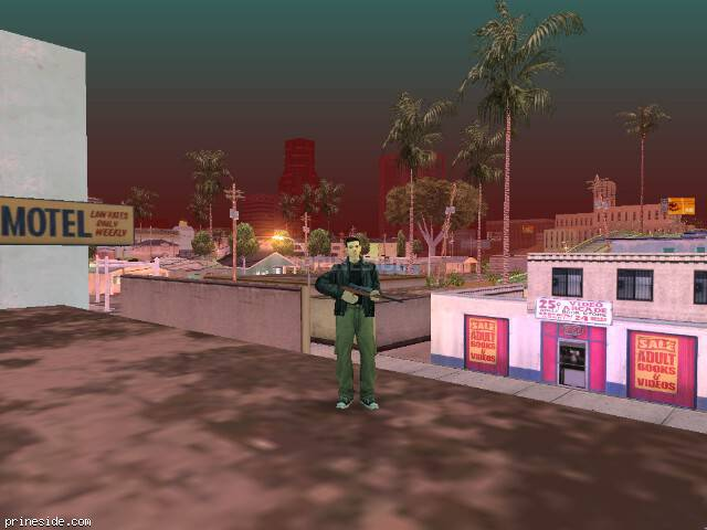 GTA San Andreas weather ID 154 at 1 hours
