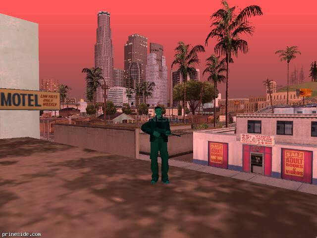GTA San Andreas weather ID 154 at 20 hours