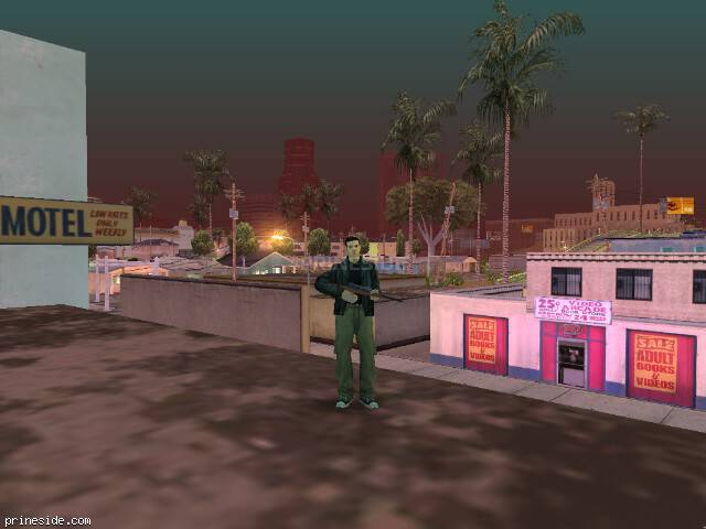 GTA San Andreas weather ID 154 at 2 hours