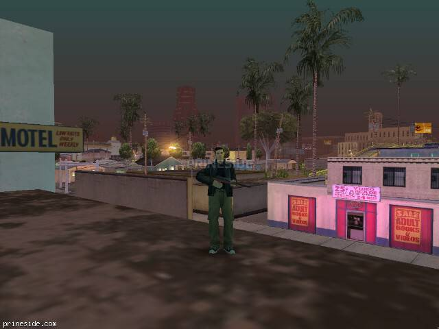 GTA San Andreas weather ID 154 at 3 hours