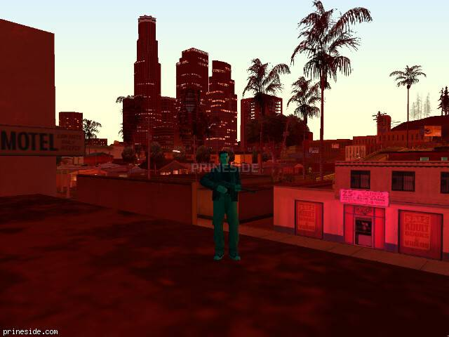 GTA San Andreas weather ID 155 at 21 hours