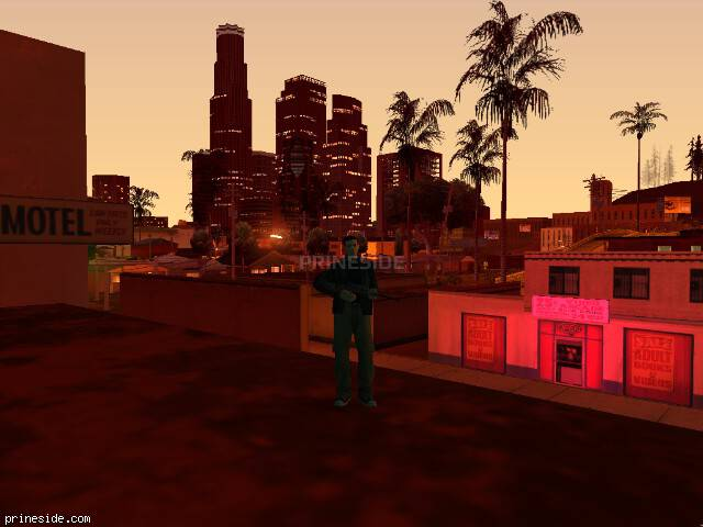 GTA San Andreas weather ID -101 at 23 hours